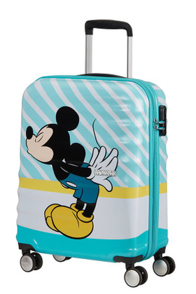 Чемодан маленький American Tourister Wavebreaker Disney Kiss